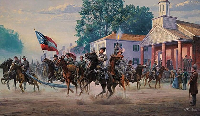 Morgans-Raid-by-M-Kunstler-1080 - Montgomery County History